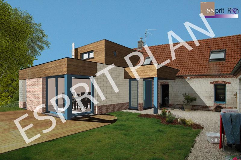 Extensions renovations am nagements agencements - Extension maison design ...