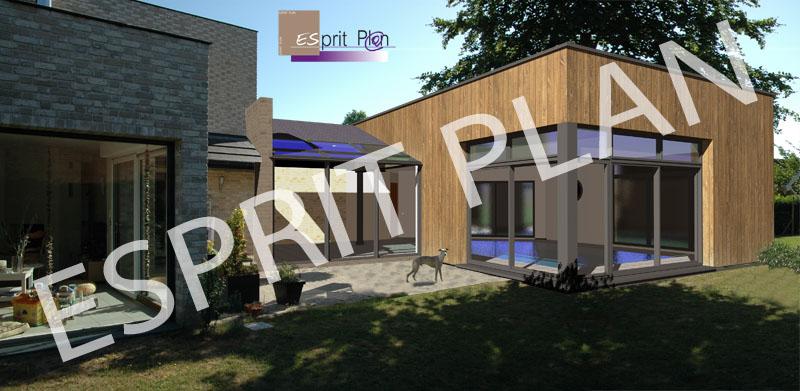 Extension maison permis de construire 10 de halls et for Extension maison 40m2 permis de construire