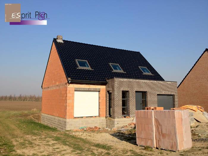 Realisations maison extensions renovations sur arras for Extension maison lotissement