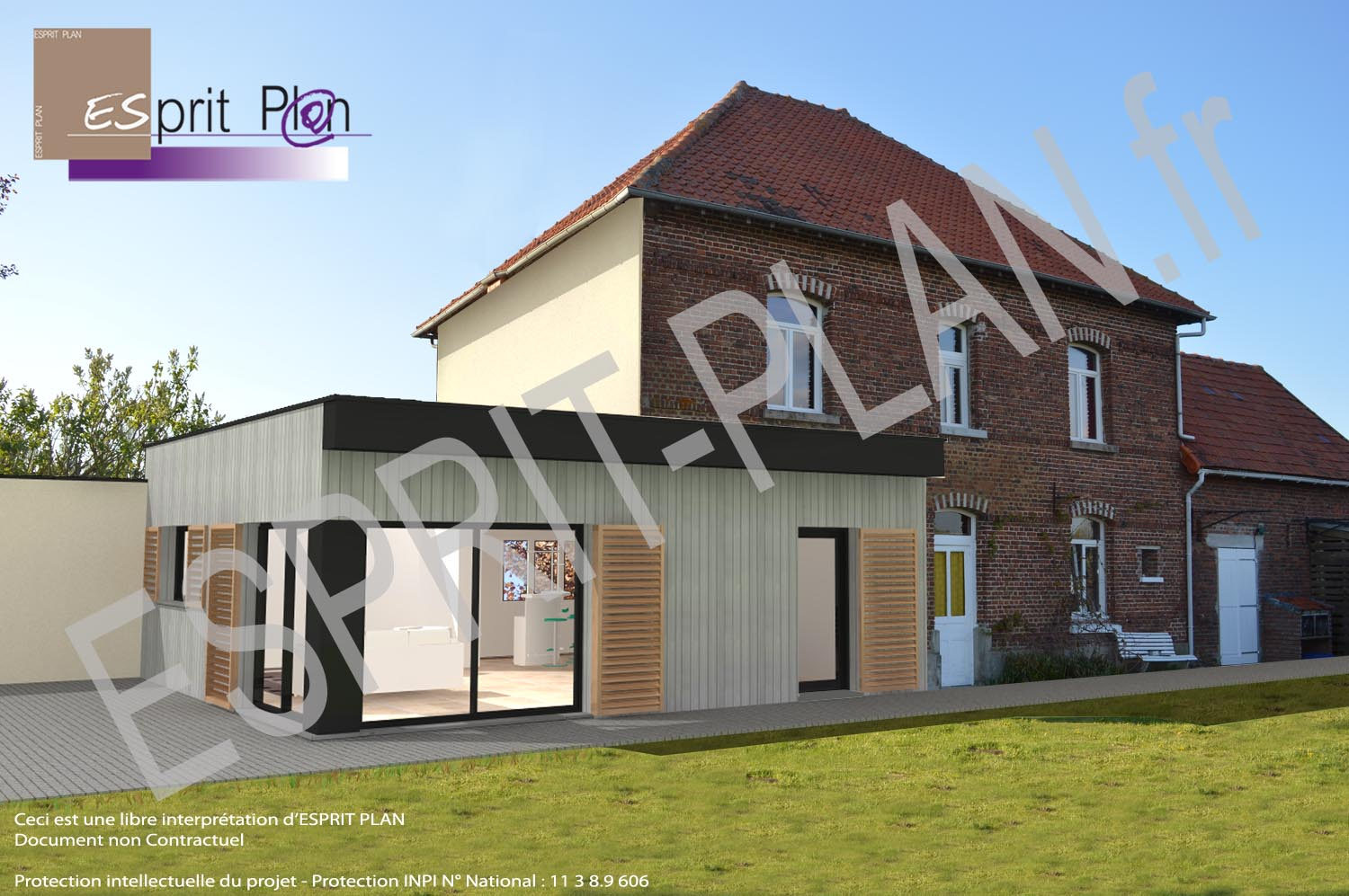 insertion paysagere maison individuelle extension renovation commune arras communaute urbaine