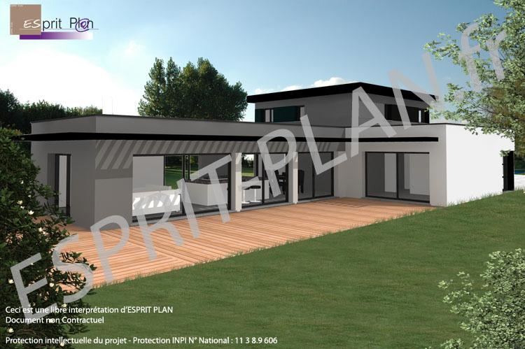 Avant projet maison extensions renovations sur arras for Avant toit terrasse