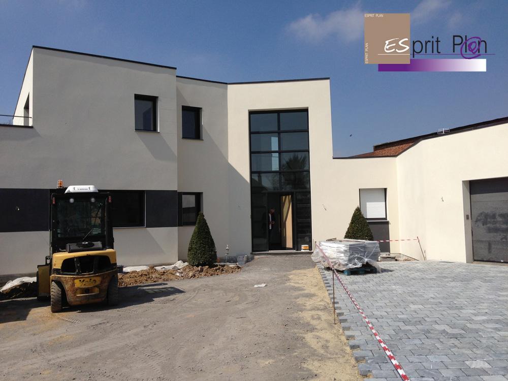 Realisations maison extensions renovations sur arras for Plan d une grande maison