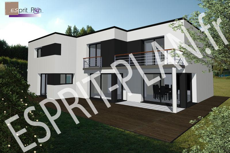 Avant projet maison extensions renovations sur arras for Plan d interieur maison moderne