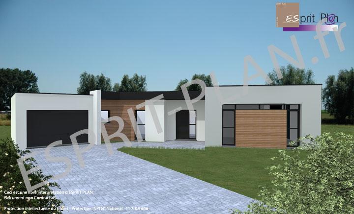 Avant projet maison extensions renovations sur arras lille et nord pas de calais modele for Maison en bois contemporaine tarif